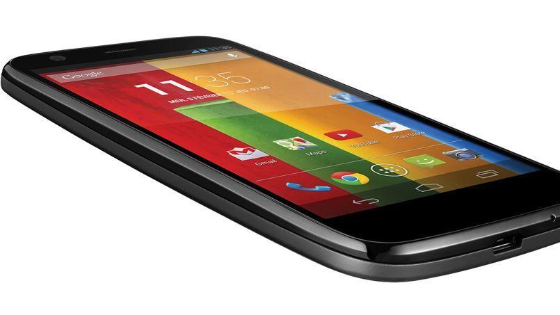 Le Motorola Moto G.