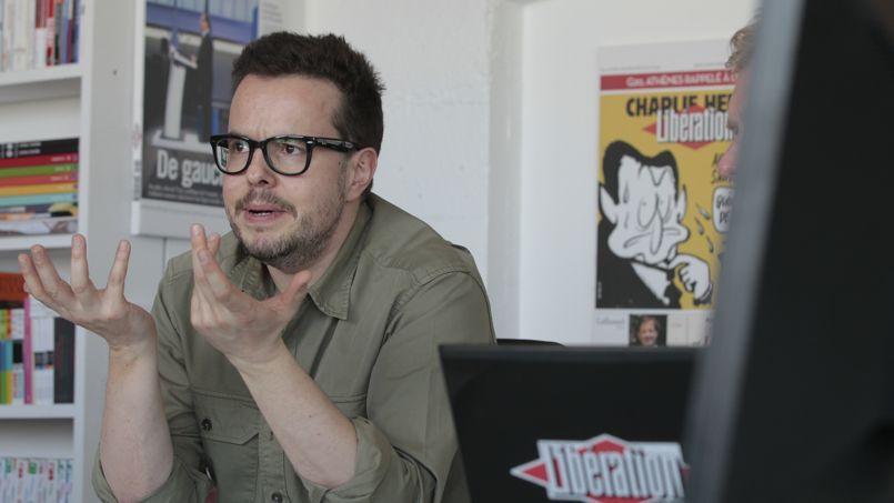 Nicolas Demorand, directeur de la publication de Libération.
