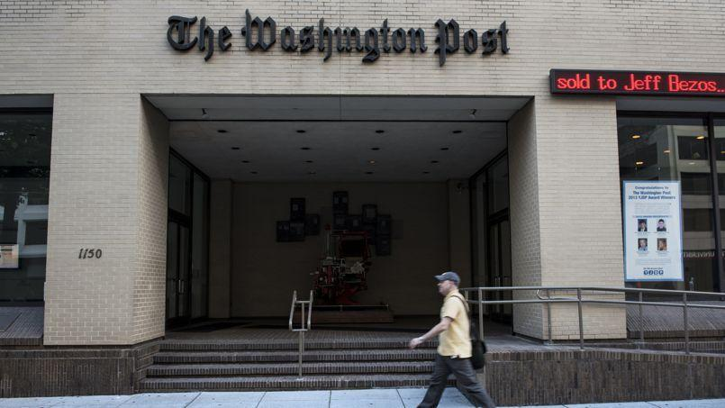 Le siège du Washington Post à Washington