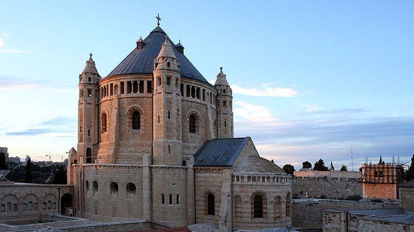 Abbaye de la Dormition à Jerusalem. Wikimedia Commons/Remi Jouan