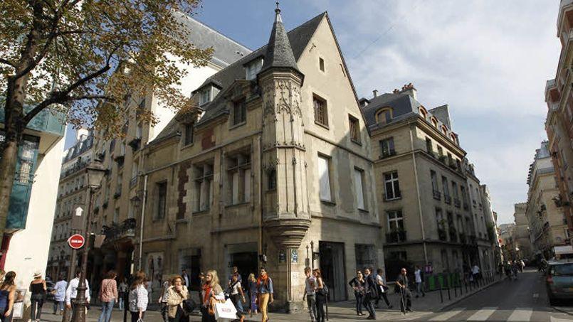 Le quartier du Marais à Paris. (Sébastien Soriano/Le Figaro)
