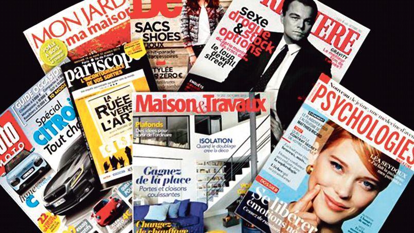 Dix des magazines du groupe sont en vente.