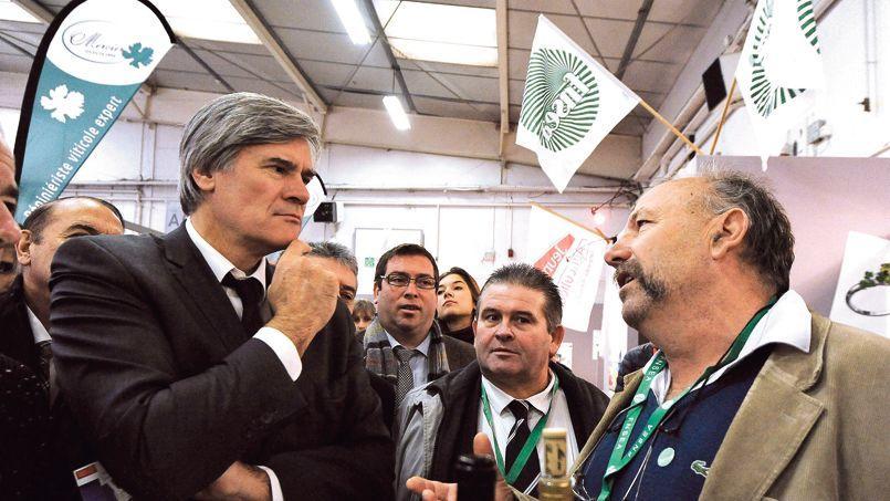 Le ministre de l'Agriculture, Stéphane Le Foll (jeudi, à Montpellier), est l'un des trois ministres chargés de mener une concertation nationale sur l'écotaxe.