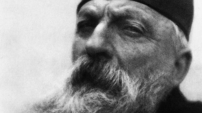 Auguste Rodin, photographié en 1906 par Alvin Langdon Coburn.