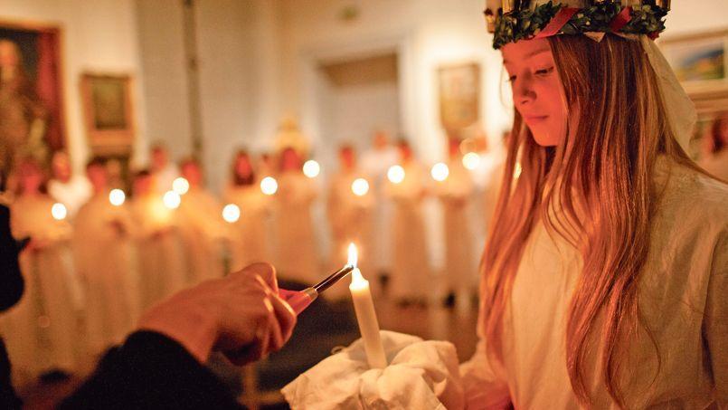 La fête de la Sainte-Lucie qui est une célébration de la lumière, marque la nuit la plus longue de l'année.