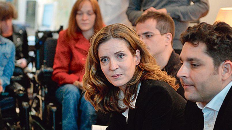Nathalie Kosciusko-Morizet lors de la présentation de son plan en faveur des handicapés, mardi à Paris.