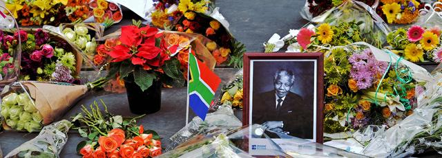 La mort de Nelson Mandela