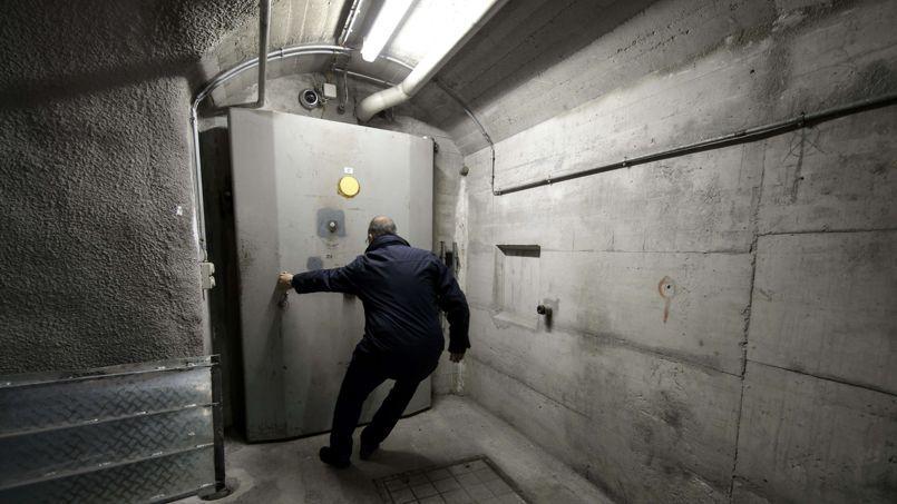 Un bunker transformé par la société ociété privée Deltalis.