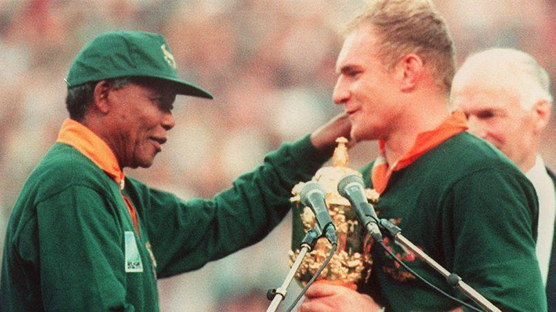 Nelson mandela l 39 architecte d 39 une nation arc en ciel - Coupe du monde rugby afrique du sud 1994 ...