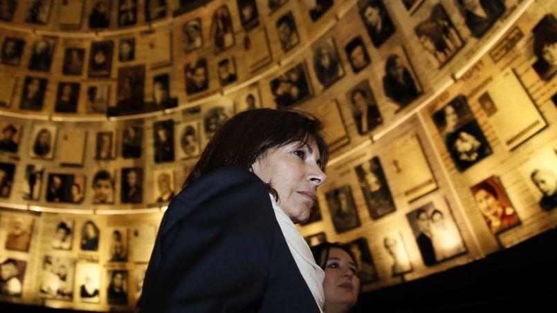 Anne Hidalgo s'est rendue au mémorial Yad Vashem à Jérusalem. Ci-dessus, la salle des noms où les victimes de l'Holocauste sont répertoriées.