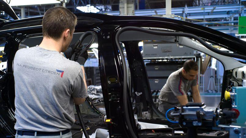 PSA envisage la suppression d'une ligne de production à Mulhouse