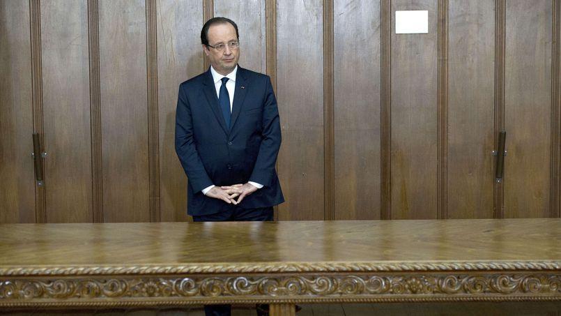 François Hollande vendredi à Sao Paulo avant de se rendre en Guyane.