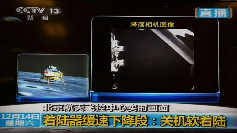 La Chine a réussi à poser en douceur une sonde spatiale sur la Lune