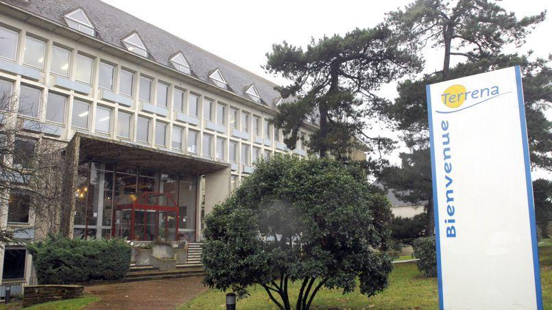 Le siège de la coopérative française Terrena, à Ancenis, en Loire-Atlantique.