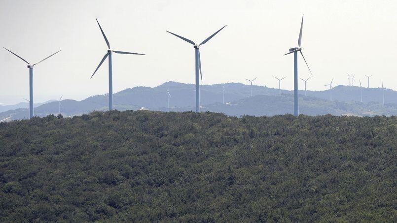 Des éoliennes dans la province de Navarre.