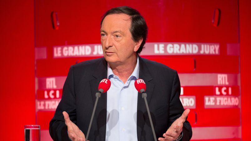Michel-Édouard Leclerc, dimanche soir, sur le plateau du «Grand Jury RTL-Le Figaro-LCI».