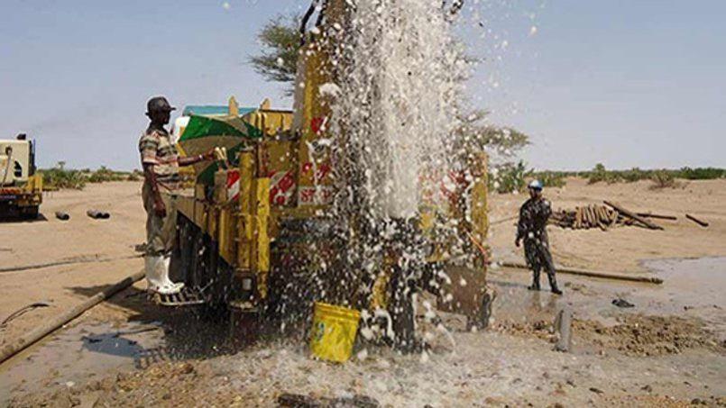 La nappe souterraine, qui s'étend sur une centaine de kilomètres, va permettre d'augmenter les réserves stratégiques en eau du pays.