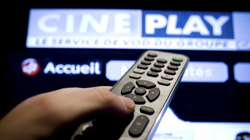 Le service de VOD Ciné Play du groupe Canal+.