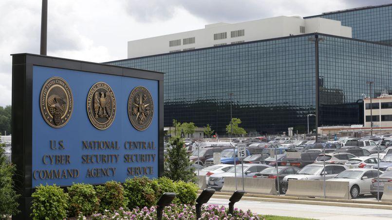 Les locaux de la NSA dans le Maryland, aux États-Unis.