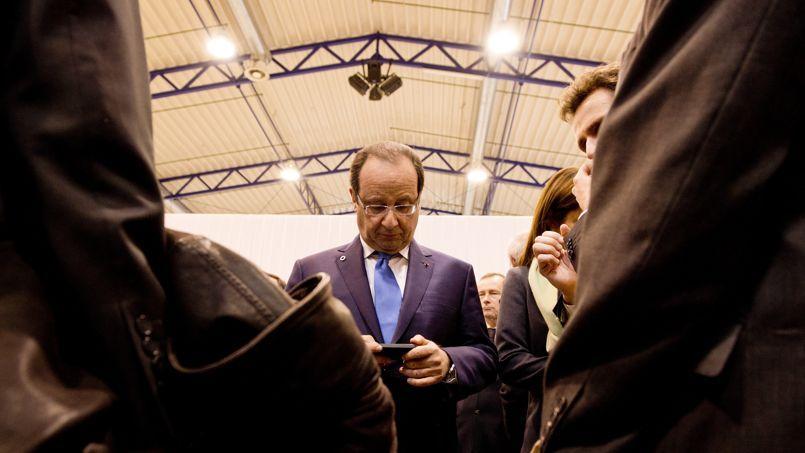 François Hollande, le 29 novembre, à Vilnius (Lituanie).