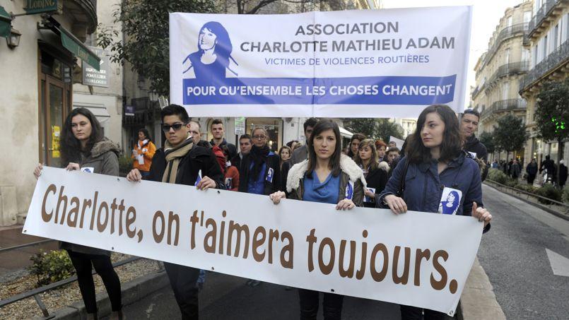 Une marche a été organisée à Montpellier le 2 janvier en hommage à Charlotte, tuée par un chauffard le 22 décembre.