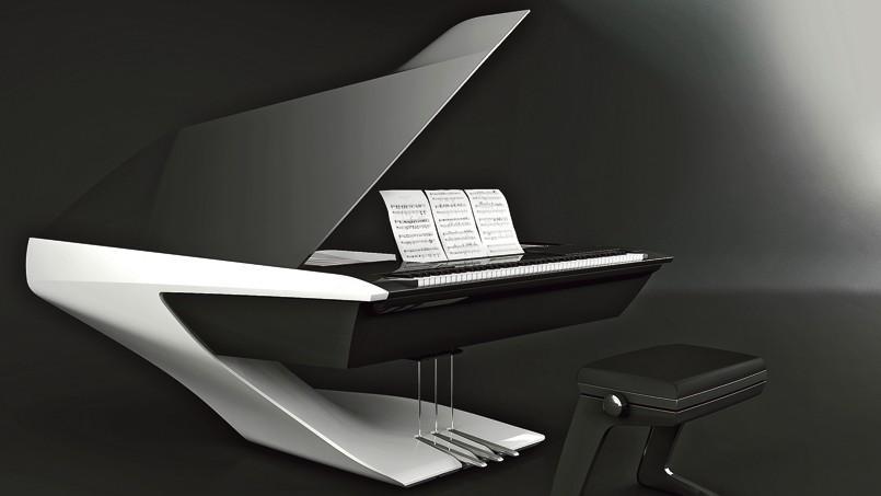 Le piano Peugeot Design Lab pour Pleyel.