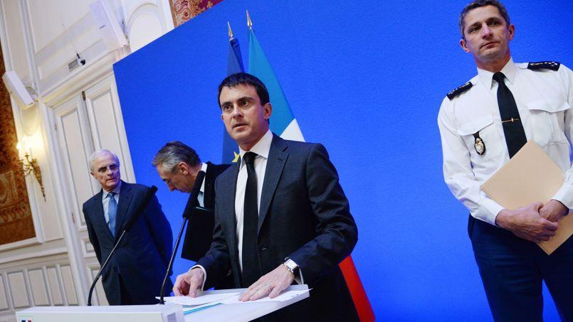 Manuel Valls, le 1er janvier.