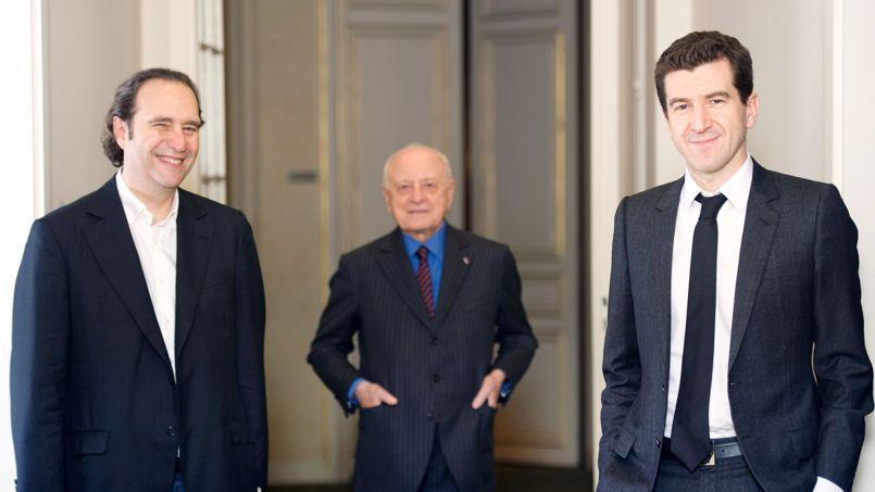 Xavier Niel, Pierre Bergé et Matthieu Pigasse prêts à racheter le Nouvel Obs.