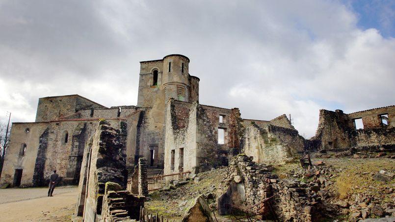 Le village fantôme d'Oradour-sur-Glane.