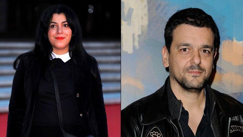 Marjane Satrapi et Joann Sfar parmi les nommés à la présidence d'Angoulême. Crédits photos: Abaca Press.