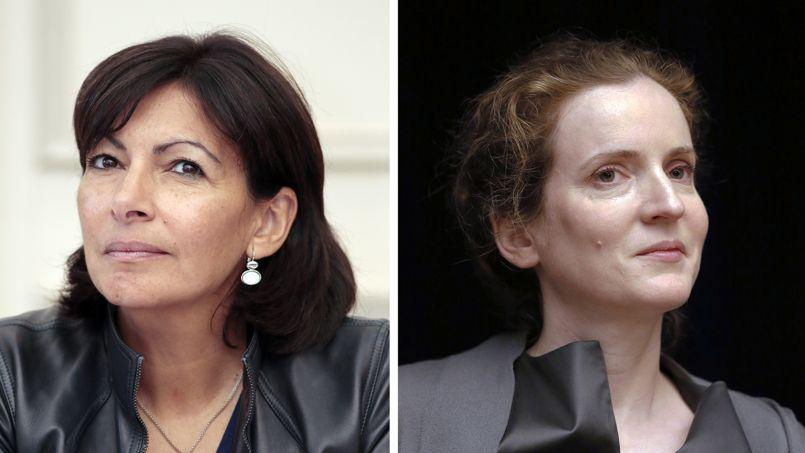 Au deuxième tour, Anne Hidalgo l'emporterait avec 51,5% des voix contre 48,5% pour NKM.