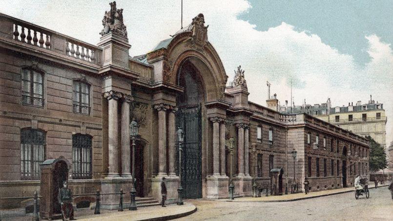 Le palais de l'Élysée, entre 1900 et 1910.