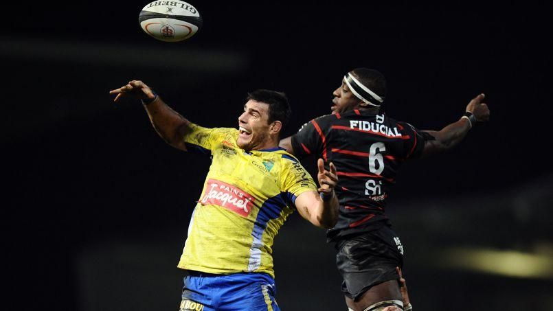 Un match de Top 14 entre Clermont et Toulouse.