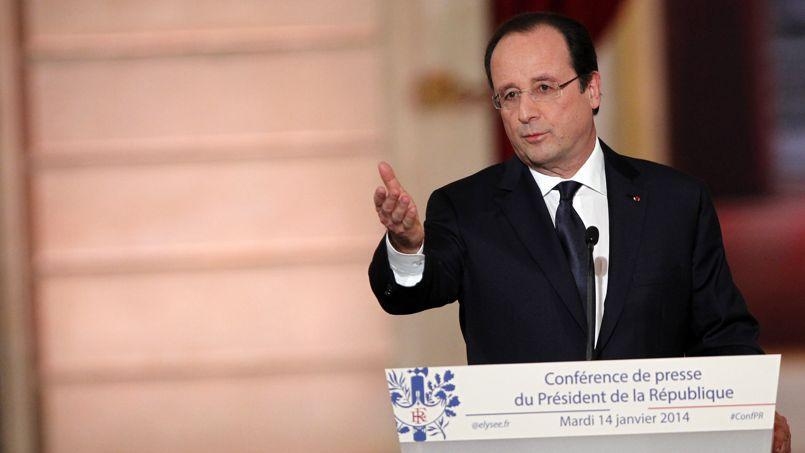 Le chef de l'État, ce mardi, à l'Élysée.
