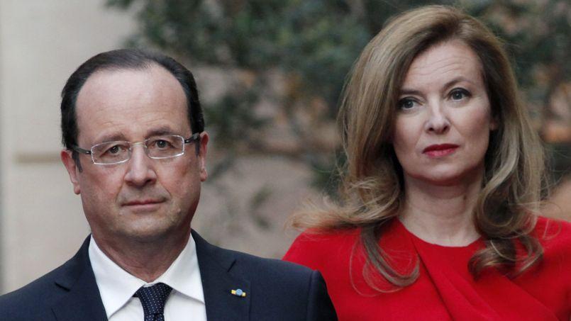François Hollande et Valérie Trierweiler en mai à l'Élysée.