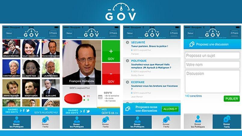 L'application GOV veut donner une nouvelle voix aux citoyens