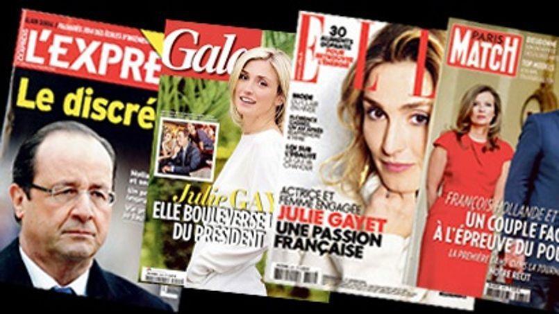 Toute la presse magazine, qu'elle soit people, féminine ou news, a emboîté le pas de Closer depuis la révélation de la liaison entre le président et l'actrice.