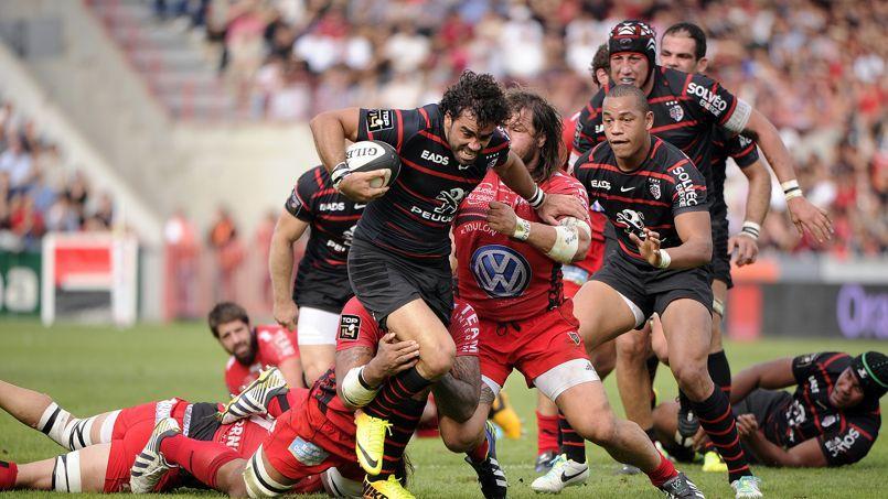 Les équipes phares du rugby (ici Toulouse et Toulon) continueront d'être diffusées sur Canal +