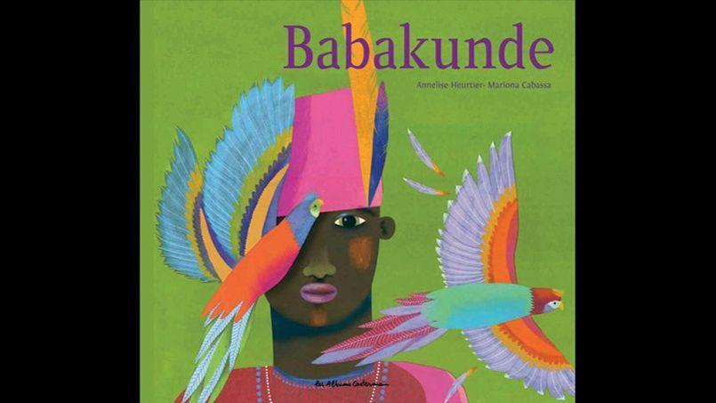 La couverture de Babakunde, publié aux Éditions Casterman.