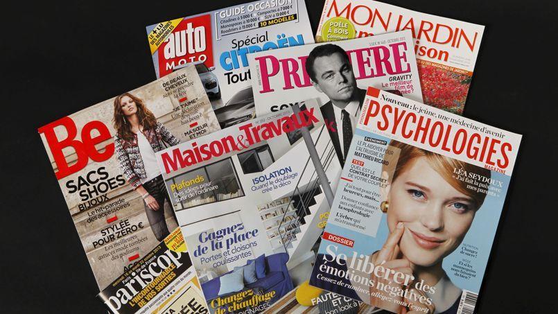 Les acquéreurs intéressés par les 10 magazines à vendre devront remettre leurs offres fermes le 15février. Crédit: Jean-Christophe Marmara/Le Figaro