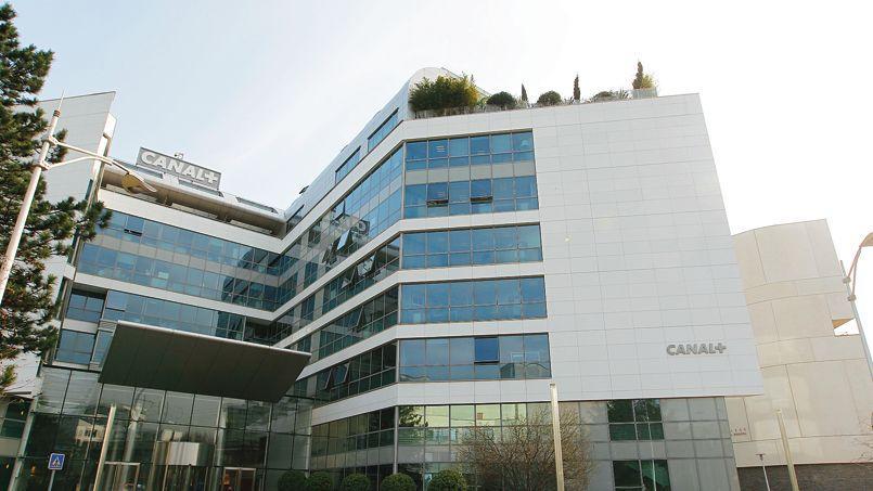 Le siège de Canal + à Issy Les Moulineaux.
