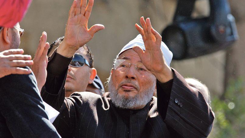 Le prédicateur égyptien Youssef al-Qaradawi, qui inspire, avec d'autres, des sites Internet appelant au djihad.