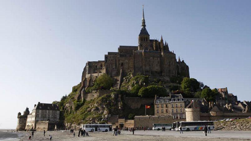 Le Mont-Saint-Michel. En 2013, la France a enregistré 405 millions de nuitées dans ses hôtels, résidences touristiques et campings. Crédit: François Bouchon/Le Figaro
