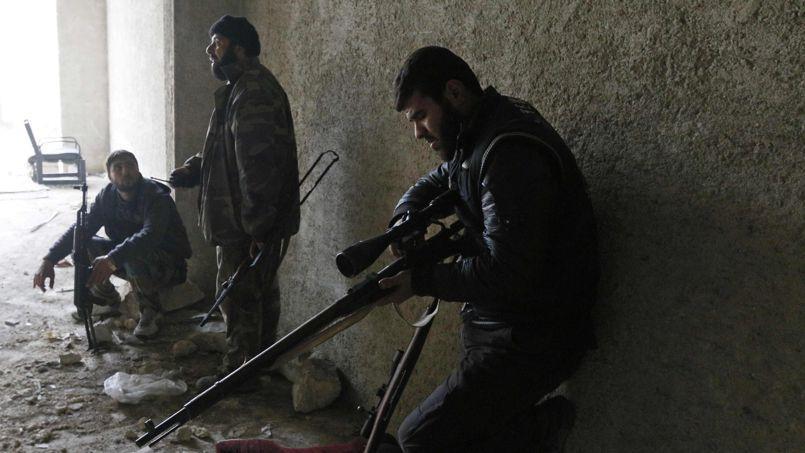 Alep, en Syrie, ce mois-ci.