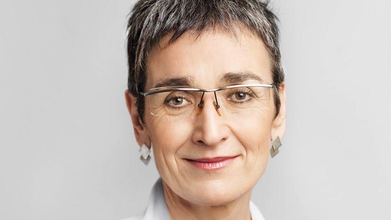 Ulrike Lunacek, eurodéputée et vice-présidente de l'intergroupe LGBT du Parlement européen.