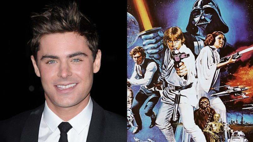 Zach Efron, descendant de Luke Skywalker?