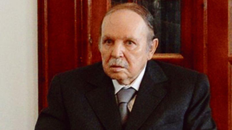 Abdelaziz Bouteflika, le juillet 2013, lors son retour en Algérie après son hospitalisation de 80 jours à Paris