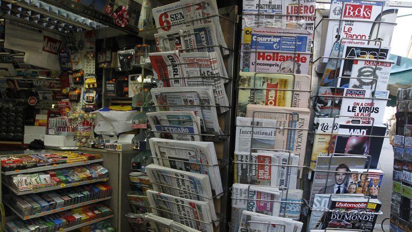 Le Figaro et Le Monde sont parvenus à limiter le recul de leur diffusion alors même qu'ils ont réduit leurs ventes par tiers