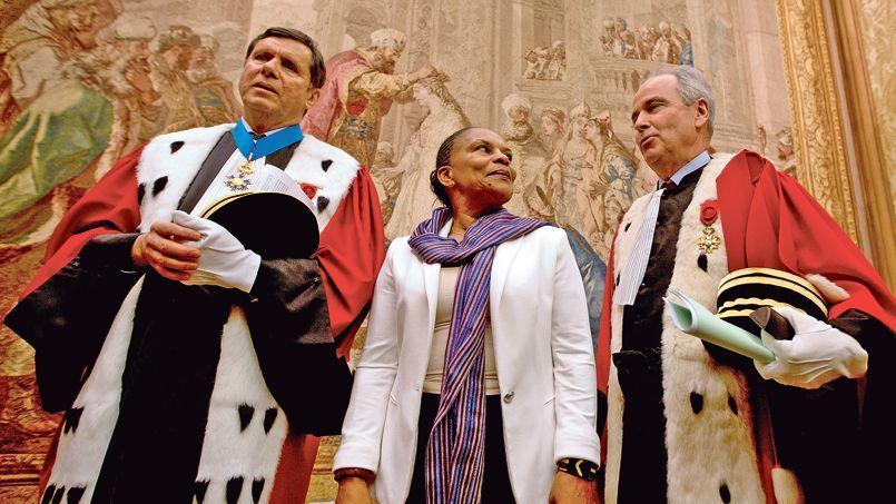 François Falletti (le 9 janvier 2013 au palais de justice de Paris en présence de Christiane Taubira) dénonce son éviction dans un courrier dont nous publions un extrait.