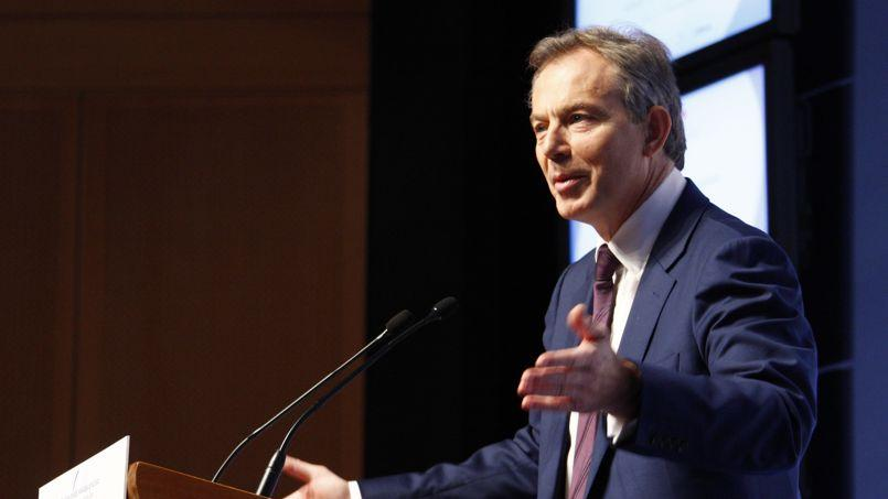 Tony Blair, ancien Premier ministre britannique (François BOUCHON/Le Figaro)